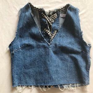 Zara TRX IX'D Makers Jean Vest, XS